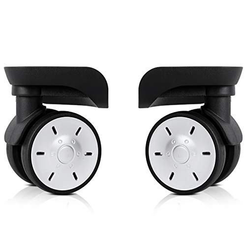 A Pair Universal Wheel Replacement Luggage Wheels for Suitcases Travel Case Repair DIY (YF-W023)