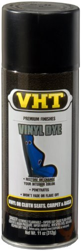 VHT SP942 Vinyl Dye Black Satin Can - 11 oz.