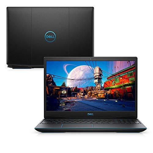 """Notebook Gamer Dell G3 3500-A40P 10ª Geração Core i7 16GB 512GB SSD NVIDIA RTX 2060 Tela 15.6"""" Windows 10 Preto"""