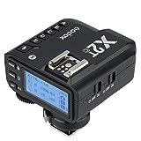 Godox X2T-C Disparador Remote para Canon cámaras, 2.4G Transmisor de Disparo de Flash inalámbrico para Canon con E-TTL II HSS 1 / 8000s Función de Grupo LED Panel de Control Actualización de firmware