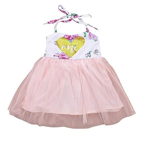 Bebé niña vestido de flores 1er cumpleaños traje floral manga larga mameluco bodysuit/top sin mangas tutú falda primer año cumpleaños pastel Smash foto conjunto