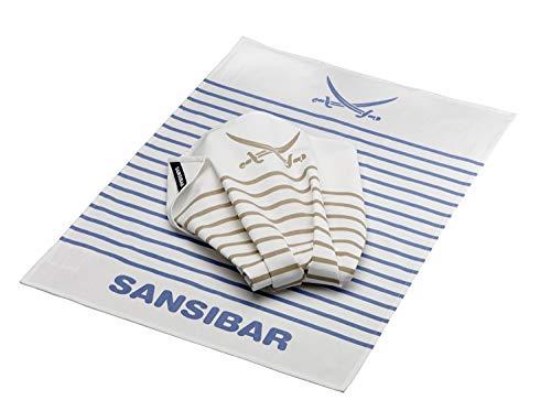 Rösle Geschirrhandtuch Sansibar 2er Pack