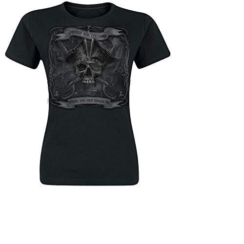 No Brands Required - Until The Sea Takes Us, Girl-Shirt, Farbe: Schwarz, Größe: M