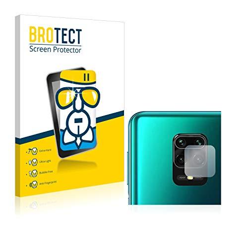 Protetor de tela de vidro brotect Compatível com Xiaomi Redmi Note 9S (Câmera) Tela 9H Proteção contra dureza, Anti-impressões digitais, Óculos de ar