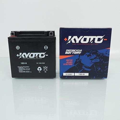 Kyoto - Batteria per scooter TGB 50 Bullet RS 2010 - 2012 Y9B-B / 12 V 9 Ah