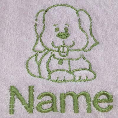 Face Cloth 30x30cm EFY Face Cloth Bath Towel or Bath Sheet Personalised with MASCARA logo and name of your choice Hand Towel