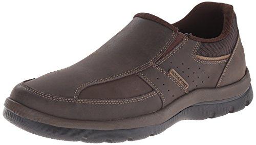 Rockport Men's Get Your Kicks Slip-On Brown Loafer 11 W (EE)-11 W