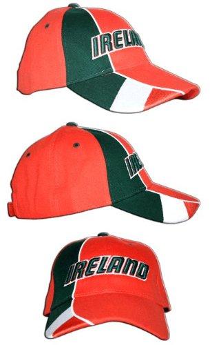 Cap / Kappe Irland, rot-grün, flag