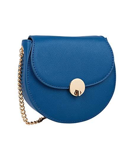 SIX Runde Mini-Bag in edlem Look (726-785)