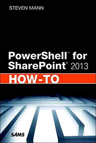 Download PowerShell For SharePoint 2013 How-To 