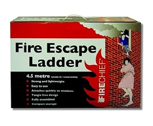 Firechief Fel14,5m escalera de emergencia escalera