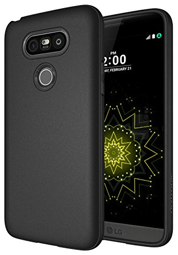LG G5 Case, Diztronic Full Matte TPU Series - Slim-Fit Soft-Touch Thin & Flexible Phone Case for LG G5 - Full Matte Black
