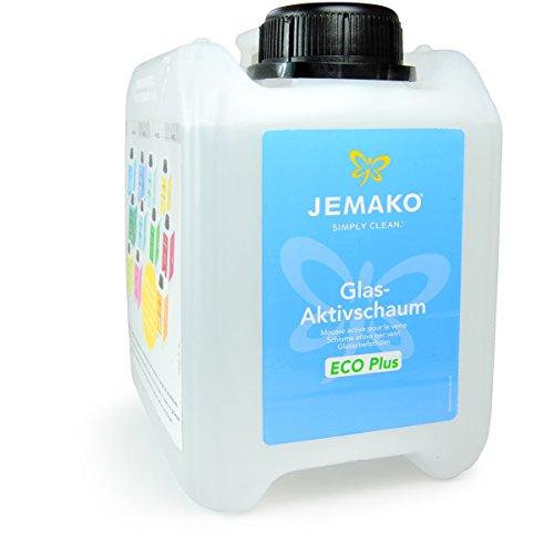 Jemako Glas-Aktivschaum ECO Plus 2l Kanister inkl. Wäschenetz