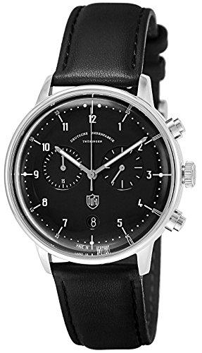 [ドゥッファ] 腕時計 HannesChrono DF-9003-01 正規輸入品 ブラック