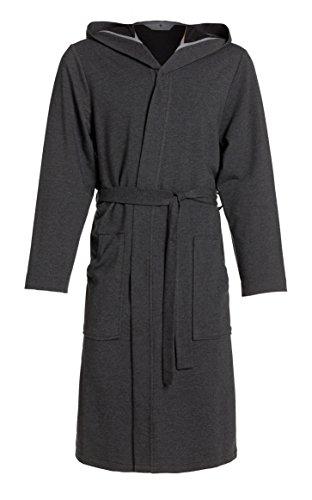Heren ochtendjas, badjas RE-110 - met capuchon - licht - voor lente en zomer