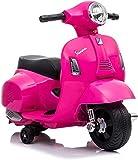 Moto Giocattolo per Bambini 2 Anni 3 Anni 1 Anno elettrica cavalcabile Vespa elettrica per Bambini 1 Anno 2 Anni Bianca