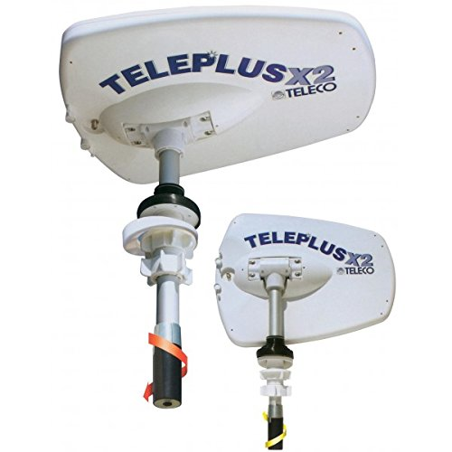 Teleco - Antenne Teleplus X2/110 Mât de 110 cm