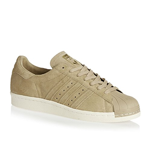Adidas Originals SUPERSTAR 80s Sneaker, EU 44 2/3, Beige