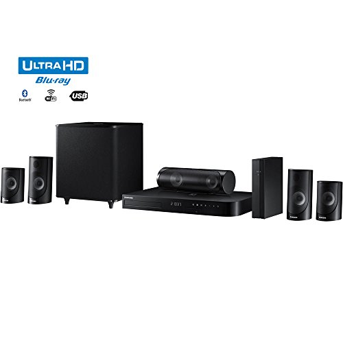 Samsung HT-J5500W - 5.1ch 1000-Watt 3D Smart Blu-ray Home Theater System w/ Bluetooth - (Renewed)