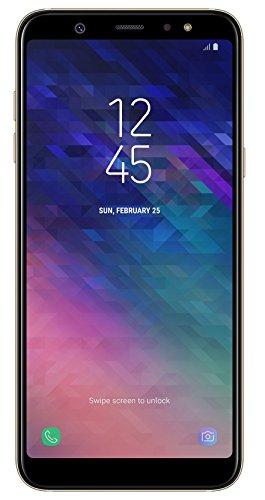 Samsung Galaxy A6+ Smartphone Bundle (6,0 pouces, 32 Go de Mémoire Interne), Or, Version Allemande