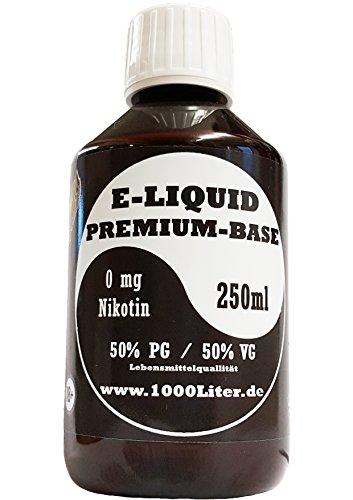 E Liquid Base 250ml 50 PG/50 VG von Laguna