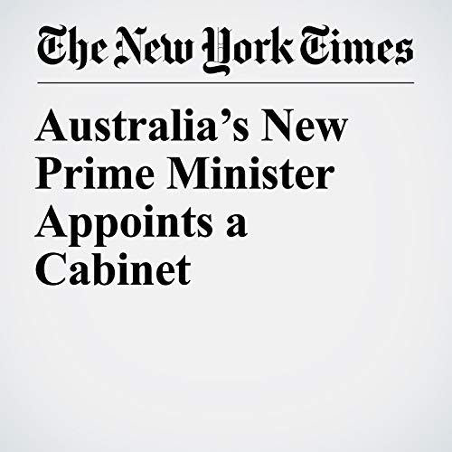 『Australia's New Prime Minister Appoints a Cabinet』のカバーアート