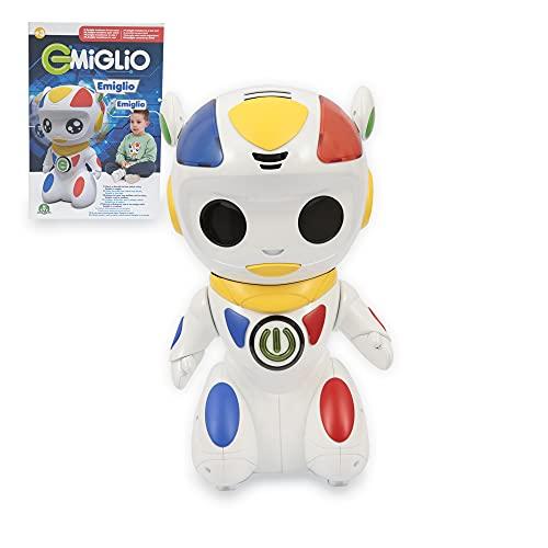Giochi Preziosi - Emiglio Robot il Compagno per mille avventure (MGL00000), Multicolore