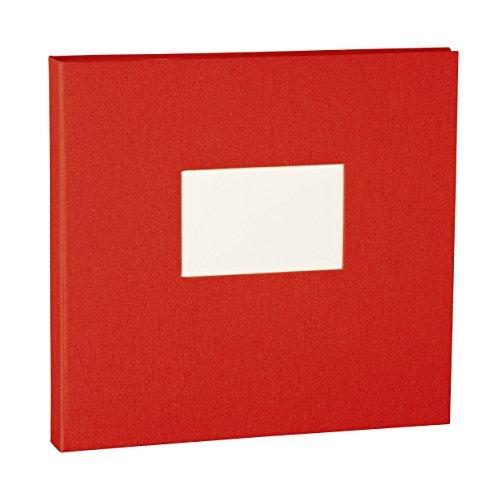 Semikolon (353361) Professional 23-Ringbinder red (rot) - zum Selbstgestalten - Basis für Foto-Album oder Fotobuch mit Ringheftung
