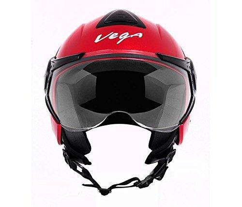 Vega Verve Open Face Helmet (Women's, Red, S)
