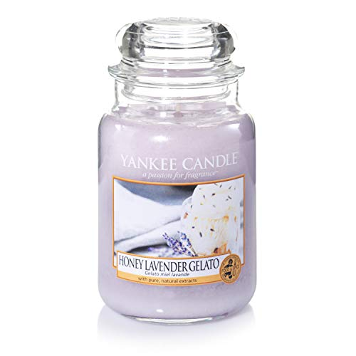 Sunday Brunch Collection by Yankee Candle Honey Lavender Gelato, Large Jar