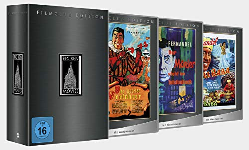 Fernandel Box - Filmclub Edition [3 DVDs]
