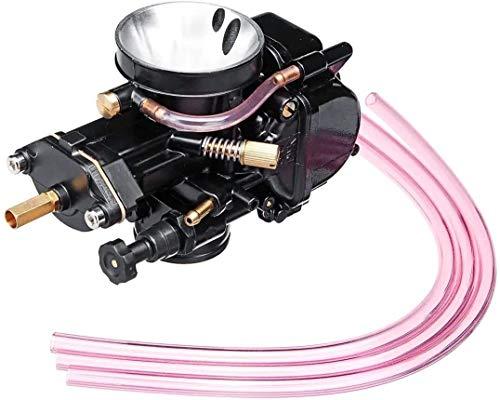 FHSF Parte reemplazar carburador del Motor for 30mm Keihin PWK carbohidratos de la Motocicleta Que compite con reemplazo Parte del carburador Mangueras Universal +3 portátil Carb Kit carburador 1019