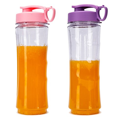 ROCK SPACE Personal Size Blenders, 14OZ, 2 Portable Juice Cups