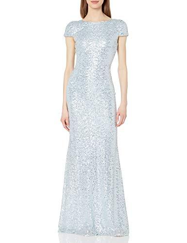 Badgley Mischka Damen EG1072H Formelle Kleidung, eisblau, 36