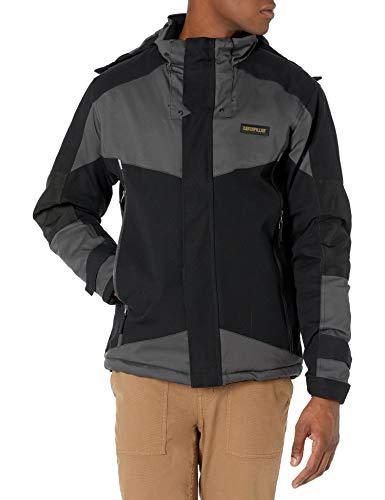 Caterpillar Men's Triton Insulated Waterproof Jacket, Black, L