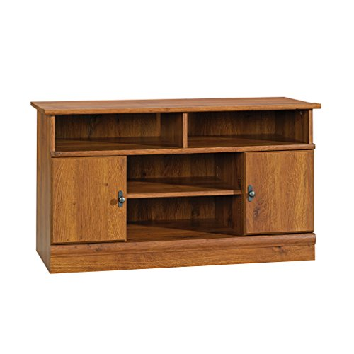 Sauder Harvest Mill Panel Tv Stand, For TV's up to 42', Abbey Oak finish