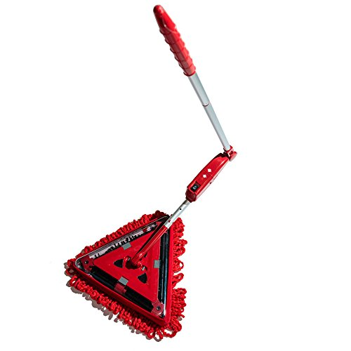 Super Sweeper Plus Super Sweeper 3 in 1 Elektrobesen, Rot, 20 x 20 x 1,1 cm