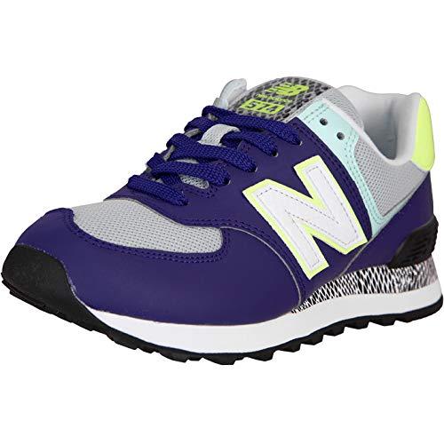 New Balance NB 574 - Zapatillas para mujer, color Morado, talla 39 EU