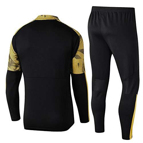 ZNMJW - Camiseta de manga larga para hombre y hombre, para entrenamiento, se puede personalizar con cualquier nombre y número, apto para fans de Dortmund
