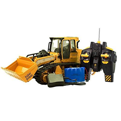 1:12 RC ferngesteuerter Bagger Baustellen-Fahrzeug, Modell mit viele Metallbauteile, schwenkbarer Schaufel Radlader, Ready-To-Drive*