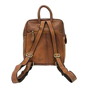 41KjezkJ+8L. SS300  - Mochila de mujer J Wilson London de cuero para mujer y niñas, mochila de escuela, casual, mochila escolar