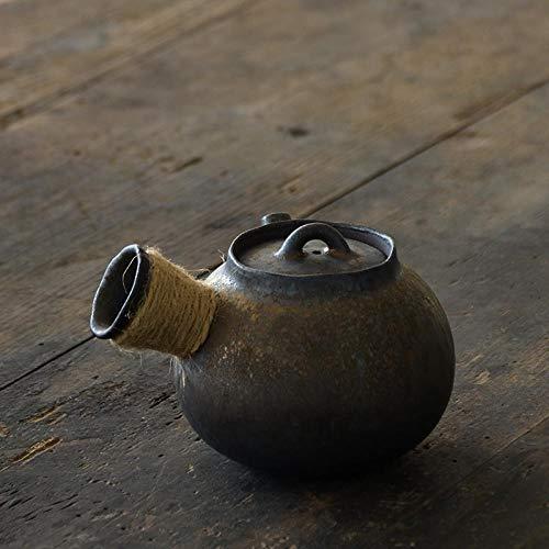 AFGH Tetera Tetera de cerámica Japonesa Bebedero de Tetera de Kung Fu Chino 200ml