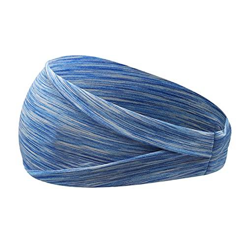 PPLAX Yoga Stirnband PC Anti-Sweat-Gürtel Damen Elastische Sport Haarband Yoga Haarband Headwear Headwear Sport Haarschmuck Sicherheitsgurt (Color : 3)