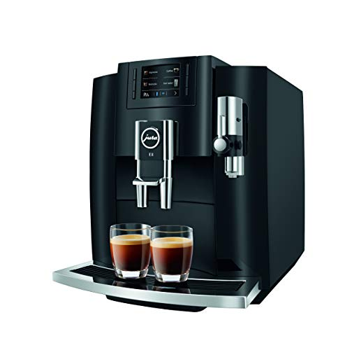 Jura E8 Piano Black Automatic Coffee Machine