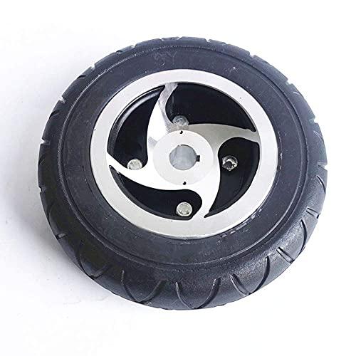 WYDM Neumáticos de Scooter eléctrico, neumáticos sólidos Resistentes al Desgaste no inflables de 200x60, adecuados para Accesorios de Ruedas de Scooter para Ancianos de 8 Pulgadas, neumático sólido