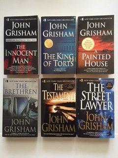John Grisham (Set of 6) Innocent Man; King of Torts; Painted House; Brethren...
