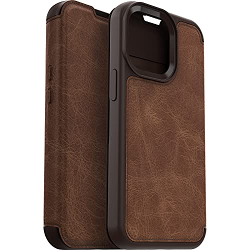 OtterBox Strada Folio Series Case for iPhone 13 Pro (ONLY) - Retail Packaging - Espresso
