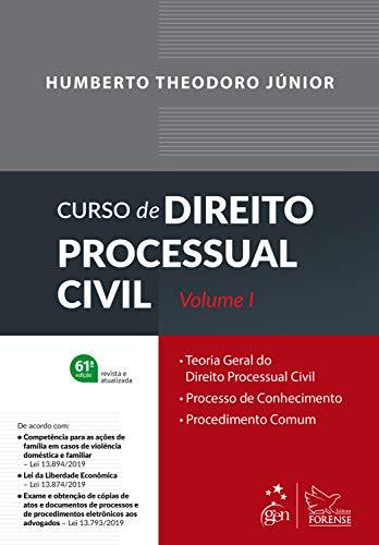 Curso de Direito Processual Civil - Vol. 1