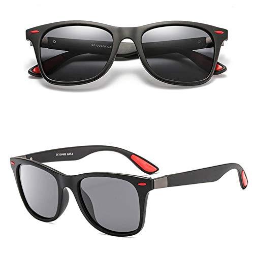 Gafas de Sol Sunglasses Gafas De Sol Polarizadas Clásicas De Moda Hombres Mujeres Diseñador Conducción Cuadrado Gafas De Sol Gafas De Sol Hombre Uv400 5