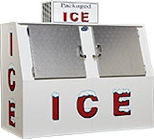 New Outdoor Leer L60 Slant, Cold Wall Ice Merchandiser - 60 cu ft